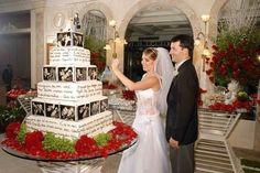 novas ideias: bolo de casamento