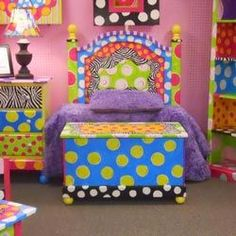 Funky Painted Furniture | For the Home