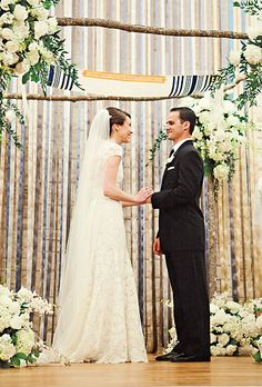 Brides A Glamorous Playful Wedding In Texas The Interfaith Ceremony Combined