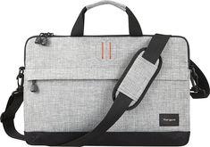 Targus - Strata Laptop Sleeve - Pewter (Silver), TSS63204US
