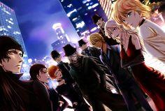 Detective Conan, Black Organization.