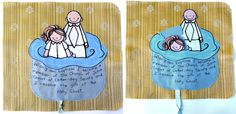 Baptism  quiet book page