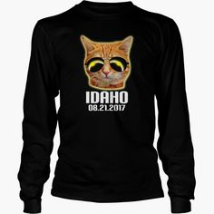#Total #Solar Cat Eclipse Idaho 21082017, Order HERE ==> https://www.sunfrog.com/LifeStyle/135813778-976676583.html?6782, Please tag & share with your friends who would love it, #christmasgifts #renegadelife #birthdaygifts