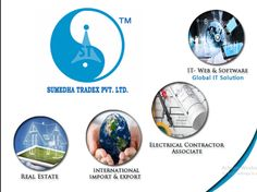 #Sumedha #Tradex is a #Delhi (#India) based #company which specializes in #import #export, #real #estate, #electrical vendor, #IT services, #website #designing #Development, #SEO & #SMO to clients all over #world. For info visit @ http://www.sumedhatradex.com and Call @ +91-011-65157809 , +91-9210291240