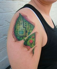 circuit-board-tattoo