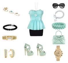 """""""Mint Look"""" by antodivinathebest4ever ❤ liked on Polyvore featuring Forever 21, Call it SPRING, David Yurman, Lovely Day, Topshop, Yves Saint Laurent, Quiz, Tiffany & Co. and Michael Kors"""