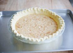 How to: Toasted Coconut Chess Pie Recipe