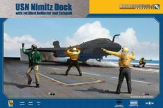 LuckyModel.com - SkunkModelWorksShop 1/48 USN Carrier Deck with Jet Blast Deflector & Catapult (SW-48020)