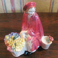 """Beautiful Royal Doulton Figurine """"Bonnie Lassie""""  picclick.com"""