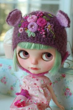 Blythe - Knitted hat