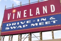 Vineland Drive-In Theater Signage