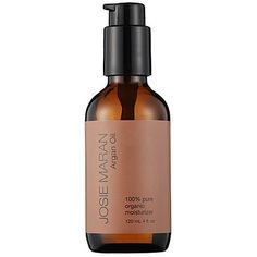 Josie Maran Organic Argan Oil 4 oz by Josie Maran. Save 1 Off!. $94.95. What it is:A lightweight oil that can be used as a daily moisturizer or treatment for skin, hair, and nails.    What it does:This 100% Pure Argan Oil is a legendary oil that's rich in vitamin E and essential fatty acids, and grown organically in Morocco. With its multitasking benefits, Argan Oil can be used for many areas including hydrating and nourishing skin, as a daily moisturizer, skin treatment, treating spilt…