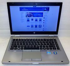 HP EliteBook 8460P Intel Core i5 Laptop 2.5Ghz 4GB RAM 250GB DVDRW Windows 7 Pro