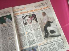 Grazie mille a @LucaTalotta di @qn_giorno per l'articolo! :)