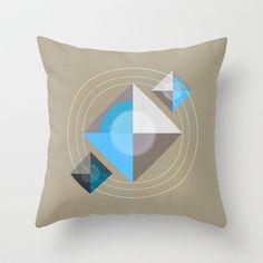 Minimalism / Geometric 4 Throw Pillow by ViviGonzalezArt - $20.00