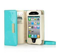 Kate Spade Turquoise iPhone Wristlet