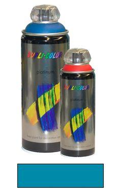 DUPLI-COLOR Sprühlack platinum seidenmatt 400 ml petrol