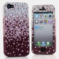 Style # 908: This Bling case can be handcrafted for iPhone 4/4S, 5, 5S, all Samsung Galaxy models (S3, S4, Note 2, 3). Our professional designers will handcraft a case for you in as little as 2 weeks. Click image for direct link