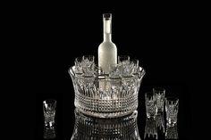 Waterford Crystal Lismore Diamond Vodka Set of 6 Shot Glasses - Waterford® Crystal