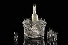 Waterford Crystal Lismore Diamond Vodka Set of 6 Shot Glasses - Waterford® Crystal