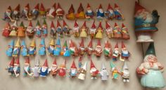 Huge Collection David The Gnome PVC Figures BRB from Rien Poortvliet's Books | eBay