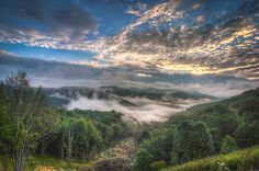Cherohala Sunrise