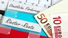 Riester-Rente mit staatlicher Förderung