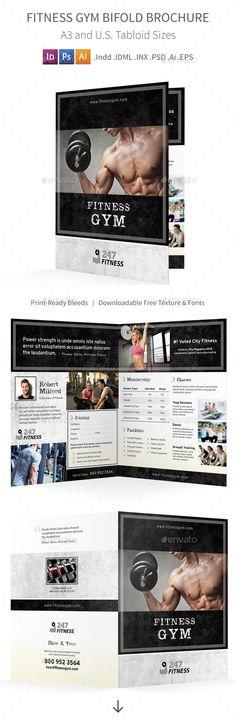 Africa Adventure Bifold / Halffold Brochure for $9 - GraphicRiver - half fold brochure template