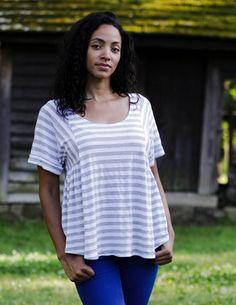 Sew Liberated Paloma top jersey sewing pattern