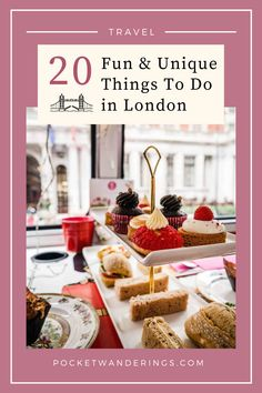 20 fun, quirky & unusual things to do in London, UK | London Travel Guide | UK Travel #londonguide #londontravel #uktravelguide #londoninspiration Road Trip Europe, Things To Do In London, Unusual Things, Sugar Rush, London Travel, Fun Desserts, United Kingdom, The Help, Sweet Tooth