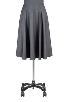 I <3 this Suiting fabric circle skirt from eShakti
