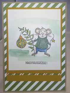 Stampin mit Scraproomboom: Nikomausgrüße