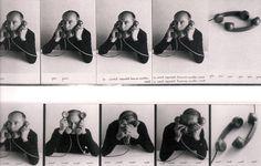 Vincenzo Agnetti, Autotelefonata (1972)