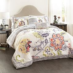Lush Decor 5 Piece Aster Quilted Comforter Set, King, Cor... https://smile.amazon.com/dp/B01AUXXBIY/ref=cm_sw_r_pi_dp_x_mcKGybNZ4TP21