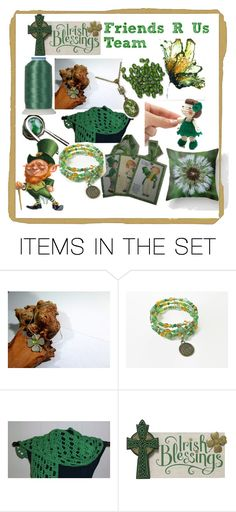"""Irish Blessings by the Friends R Us Team"" by omearascottagecharm on Polyvore featuring art and etsyfru"