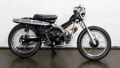 These six bikes were all built by POST Modern Motorcycles (The name is a reference to what the stock bikes are used for in Australia - delivering the post). They are affectionately called postie...