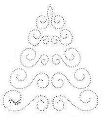 Moje perełki: Haft matematyczny na Boże Narodzenie - schematy II