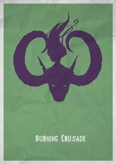 https://www.behance.net/gallery/15667283/World-of-Warcraft-Minimal-Poster