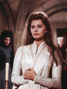 "misssophialorens: ""Sophia Loren in El Cid (1961) """