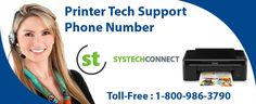 Printer Tech Support Service Phone Number is launched to help users find solutions for all HP printer related problems. To shed light on this support service, the support number 1-800-986-3790 is created. Also, you can visit the site www.systechconnect.com for details.