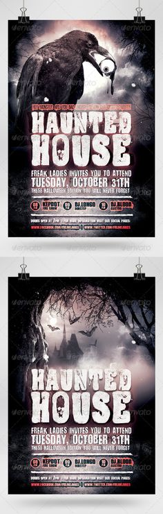 Fire Halloween Party Flyer | Halloween Party Flyer, Party Flyer