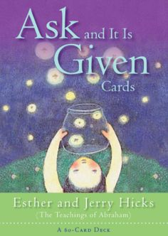 Ask And It Is Given Cards: A 60-Card Deck plus Dear Friends card ~ Abraham Hicks, Esther Hicks, Jerry Hicks ~ The Teachings of Abraham ~ Living a better-feeling life really comes down to one thing only: coming into alignment with the Energy of our Source, *Amazon Affiliate Link* #lawofattraction #thesecret #manifestation #inspirational #motivational #books #happiness #manifest