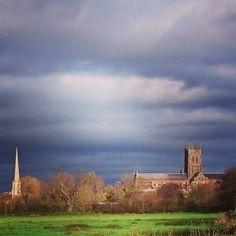 #Worcester #walk #moodysky