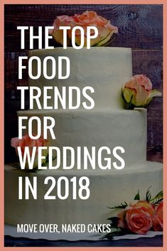 The Top Food Trends for Weddings This Year, According to Pinterest
