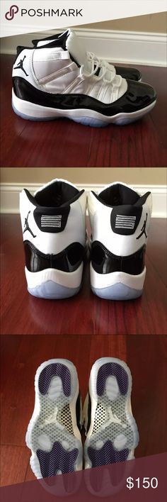 """Air Jordan Retro 11 """"CONCORD"""" Brand new never worn. Need to get here off my hands Air Jordan Shoes Athletic Shoes"""