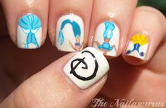 The Nailasaurus: Once Upon A Time (Disney Princess Nail Art)
