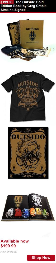 Art And Exhibitions: The Outside Gold Edition Book By Greg Craola Simkins Signed /300 New Art Print BUY IT NOW ONLY: $199.99