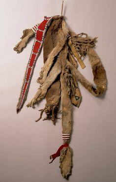 Cheyenne lion skin bowcase-quiver NMNH  ac