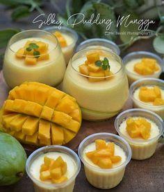 Chia Pudding, Silky Pudding, Pudding Desserts, Pudding Recipes, Cake Recipes, Indonesian Desserts, Asian Desserts, Instant Pudding, Chocolate Cookie Recipes