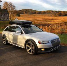 Silver Audi Allroad